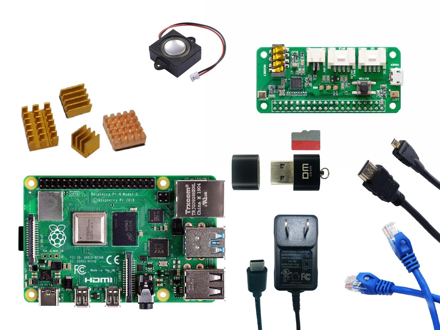 Raspberry Pi 4B - Media Centre Kit - 4GB