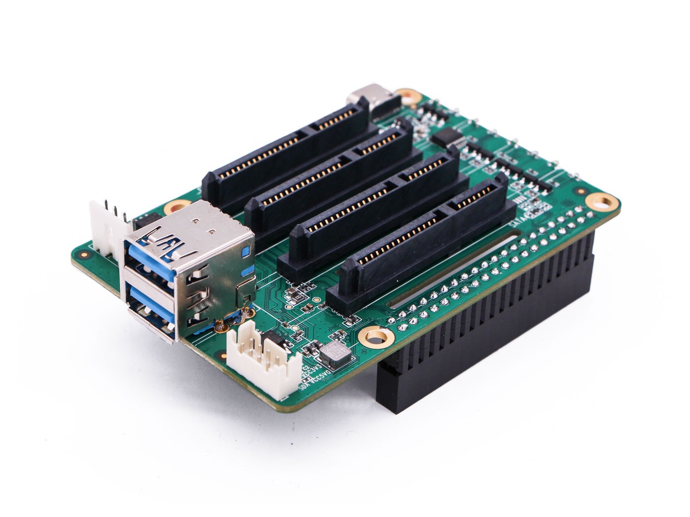 Dual SATA HAT for Raspberry Pi 4