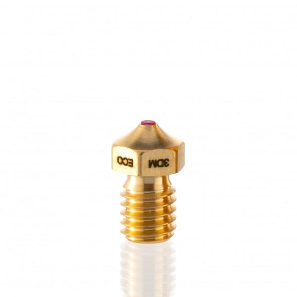 Oscar3D - Ruby ECO Nozzle - E3D Compatible ( 2.85 mm / 0.8 mm )