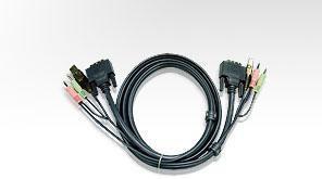 Cavo per KVM USB/DVI con audio 1,8 mt
