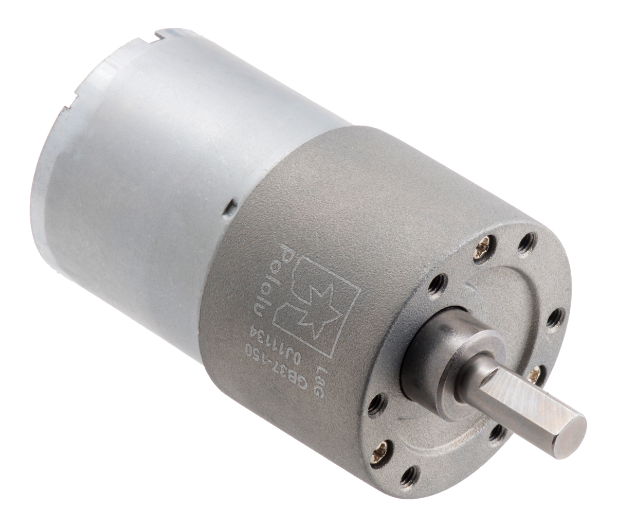 150:1 Metal Gearmotor 37Dx57L mm 12V (Helical Pinion)