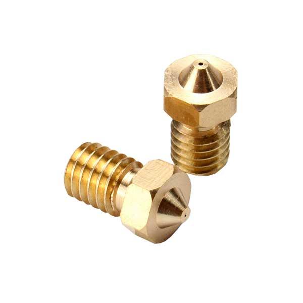 Nozzle in ottone con foro 0,3 mm per stampante 3D4040