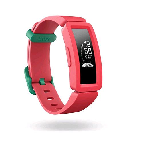 FITBIT ACE 2 ACTIVITY TRACKER UNISEX BAMBINO ROSSO VERDE