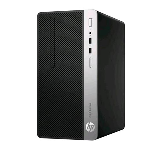 HP PRODESK 400 G6 i3-9100 3.6GHz RAM 8GB-SSD 256GB M.2 NVMe-WIN