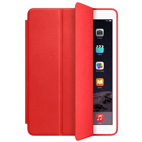 APPLE iPAD AIR 2 SMART COVER ORIGINALE IN PELLE COLORE ROSSO