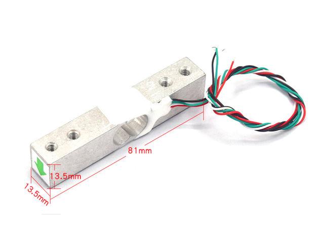 Strain Gauge Load Cell - 4 Wires - 1Kg