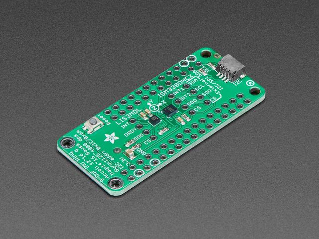 Adafruit ISM330DHCX + LIS3MDL FeatherWing