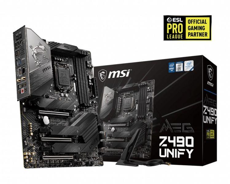 MB MSI Z490 UNIFY SKT1200 NO VIDEO 10GEN 4D4 6S3 M.2 U3 MEG ATX