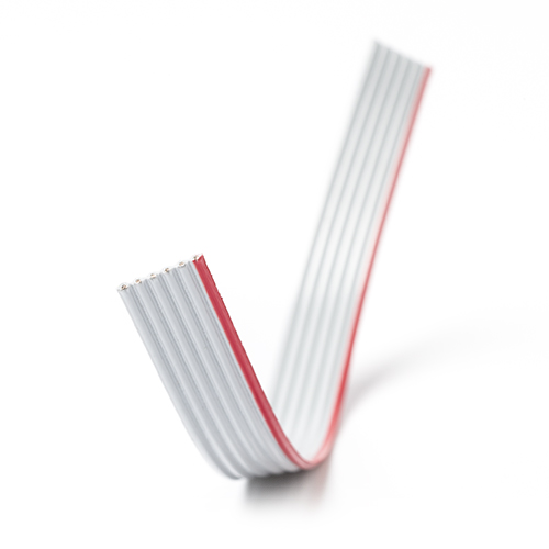 6-wire 28AWG flat ribbon cable, Gray (150 cm)