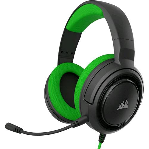 CORSAIR HS35 CUFFIE GAMNING CON MICROFONO CAVO JACK 3.5MM COLORE