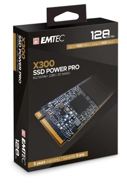 SSD M.2 128GB 2280 NVME X300 EMTEC