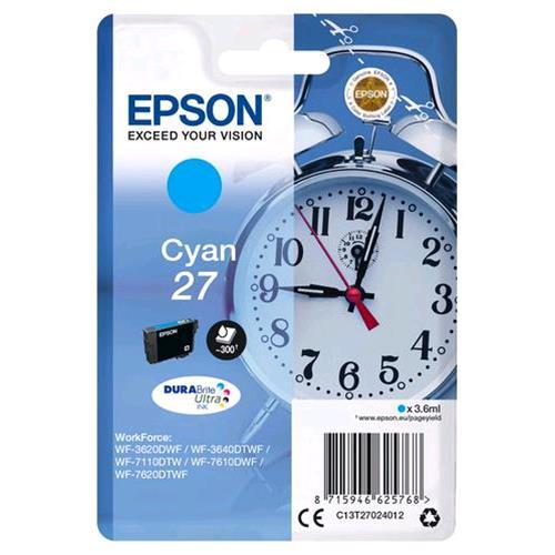 EPSON T27024012 INK CIANO WF36XX/WF76XX