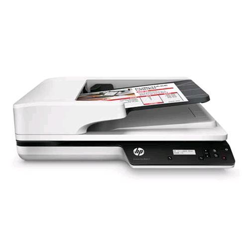 HP SCANJET PRO 3500 F1 SCANNER ELEMENTO CMOS nr 256 BIT B/N 24 B