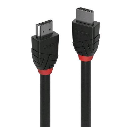 LINDY 36472 CAVO HDMI 4K HIGH SPEED BLACK LINE 2MT BLACK