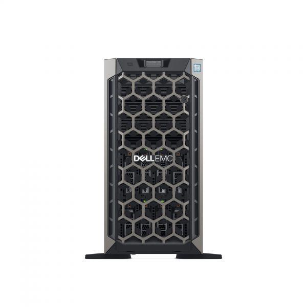 SERVER DELL T440 X4110 16GB 600GB 16SFF DVR H730 SATA SAS 3Y NBD