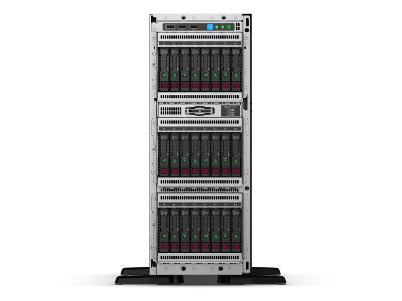 SERVER HPE ML350 X4214 NOHDD 32GB GEN10 P408I-A 8*2,5 HOTPLUG 1X