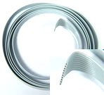 1 meter of 10 wires flat cable for Daisy wiring