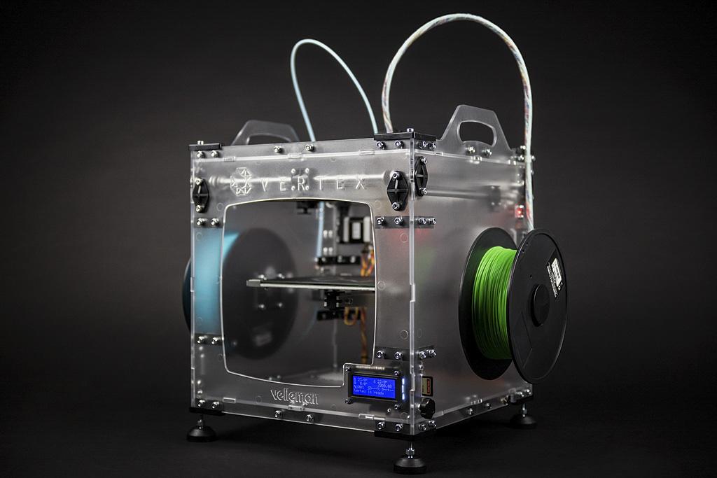 3DVertex - Stampante 3D singolo estrusore - in kit da montare