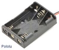 3-AAA Pack Battery Holder