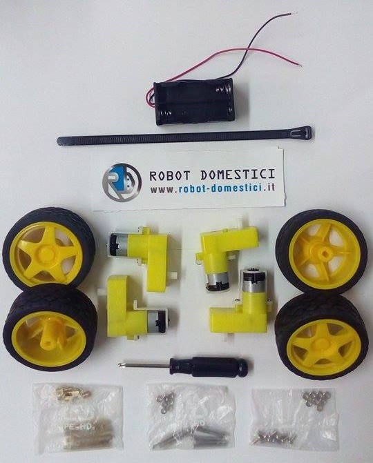4WD Kit w/o Chassis