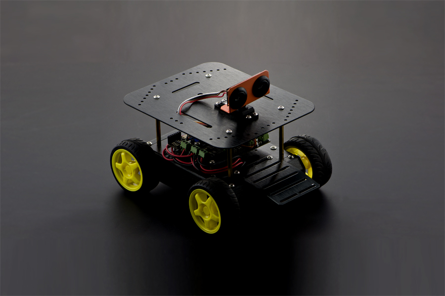 4WD Mobile Platform - Support IOS Control