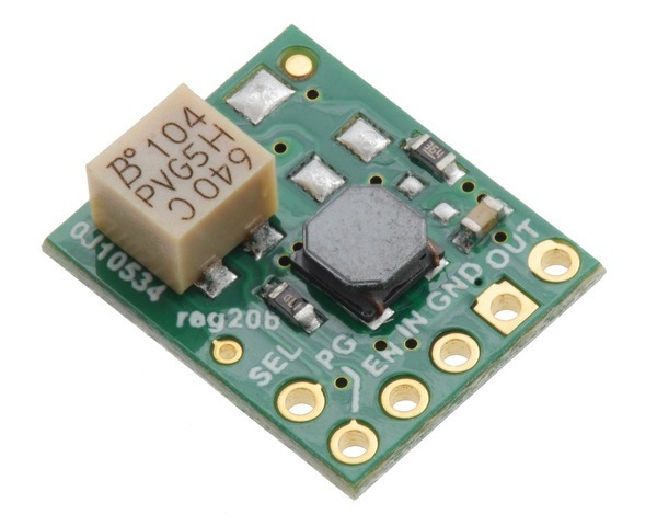5V Step-Up/Step-Down Voltage Regulator w/ Adjustable Low-Voltage
