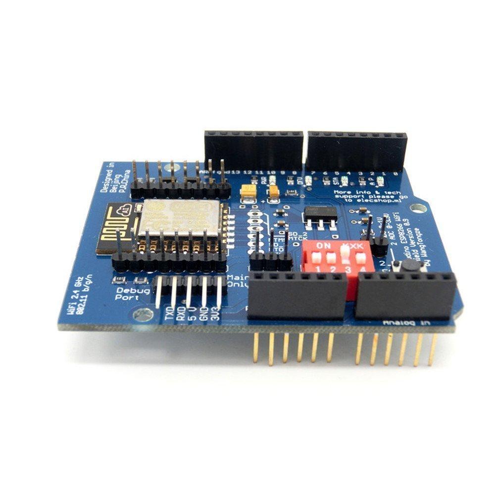ARCELI ESP-12E ESP8266 Schermo wireless UART WIFI per Arduino UN