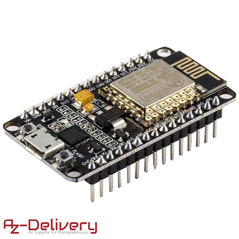 AZDelivery ESP8266 NodeMCU Amica V2 Modulo ESP-12E WiFi Developm