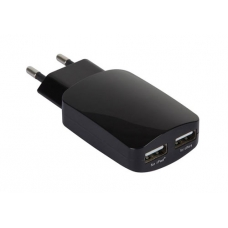Alimentatore switching 2 uscite USB - 5 VDC / 3,1 A