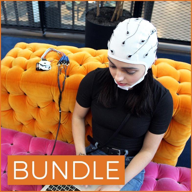 All-in-One EEG Electrode Cap Starter Kit