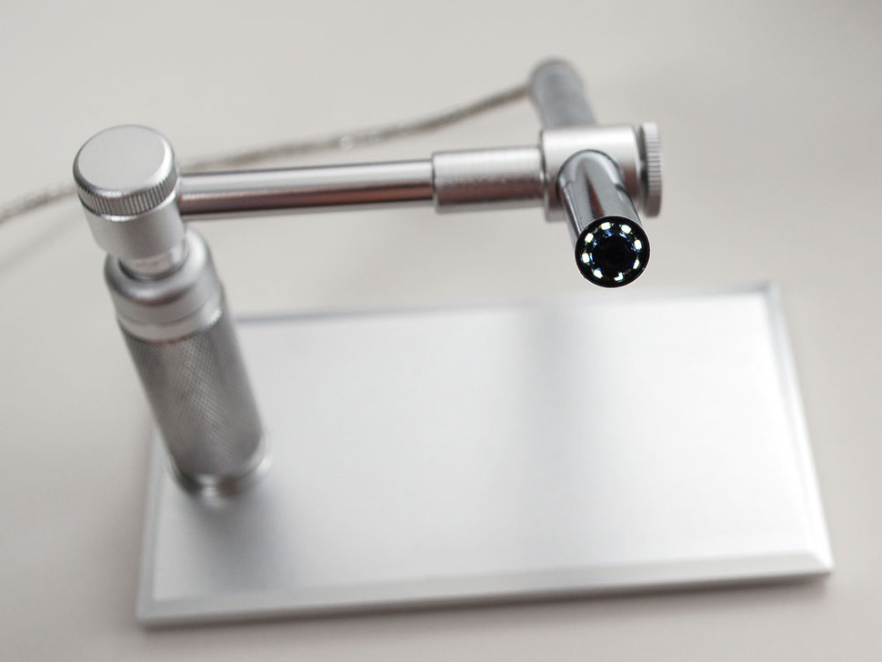 Aluminum USB Microscope with Precision Stand