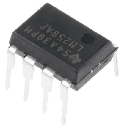 Amplificatore operazionale LM258AP, 10pz, alimentazione doppia/s