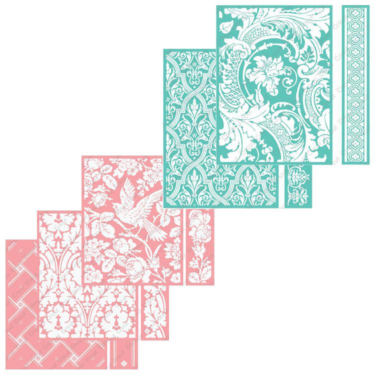 Anna Griffin Embossing Folder Set