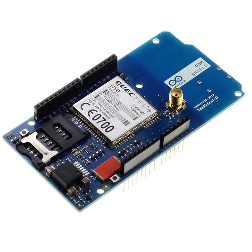 Arduino GSM Shield V.2 (con connettore antenna)