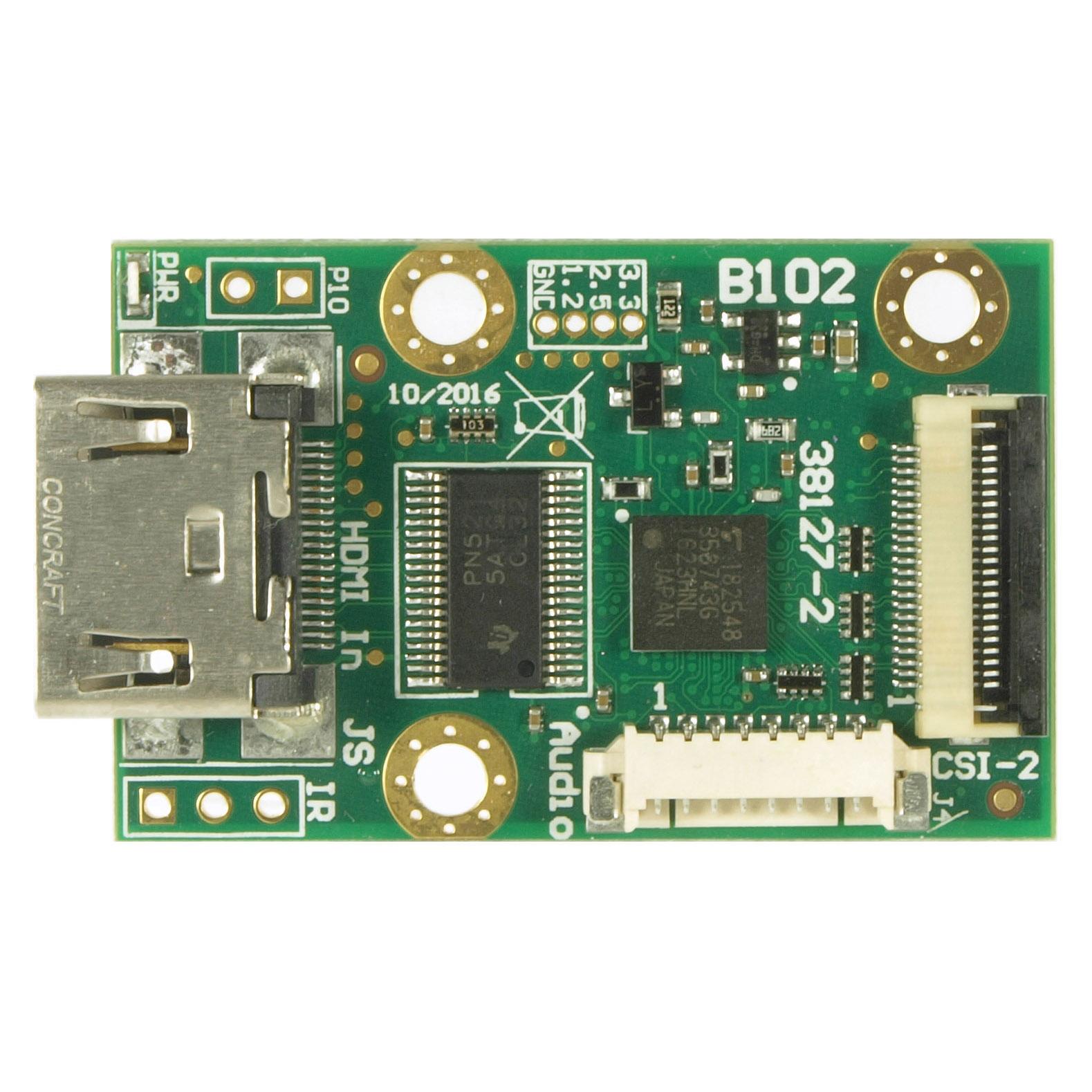 B102 HDMI to CSI-2 bridge (rev 2 with I2S audio)