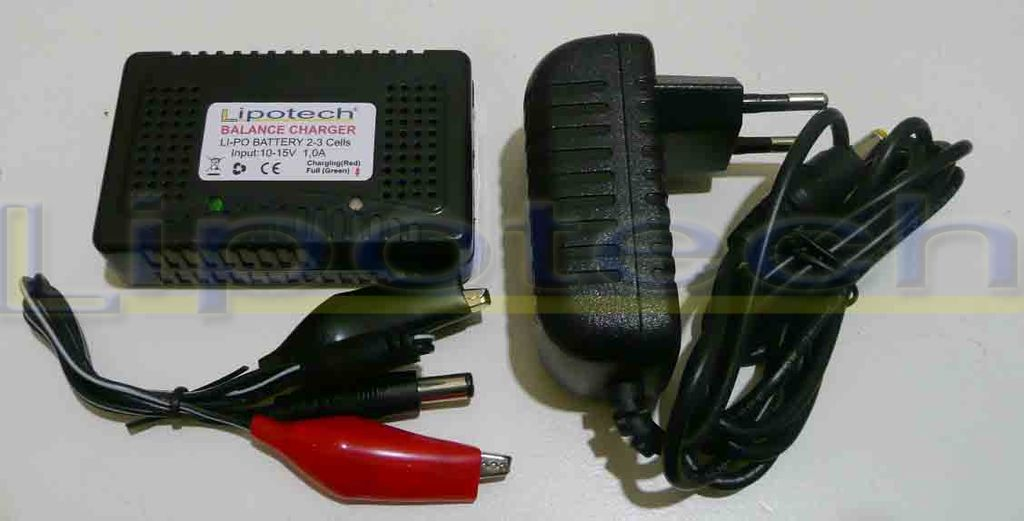 Balance Charge BLK 2-3 Lipo 12V/220V