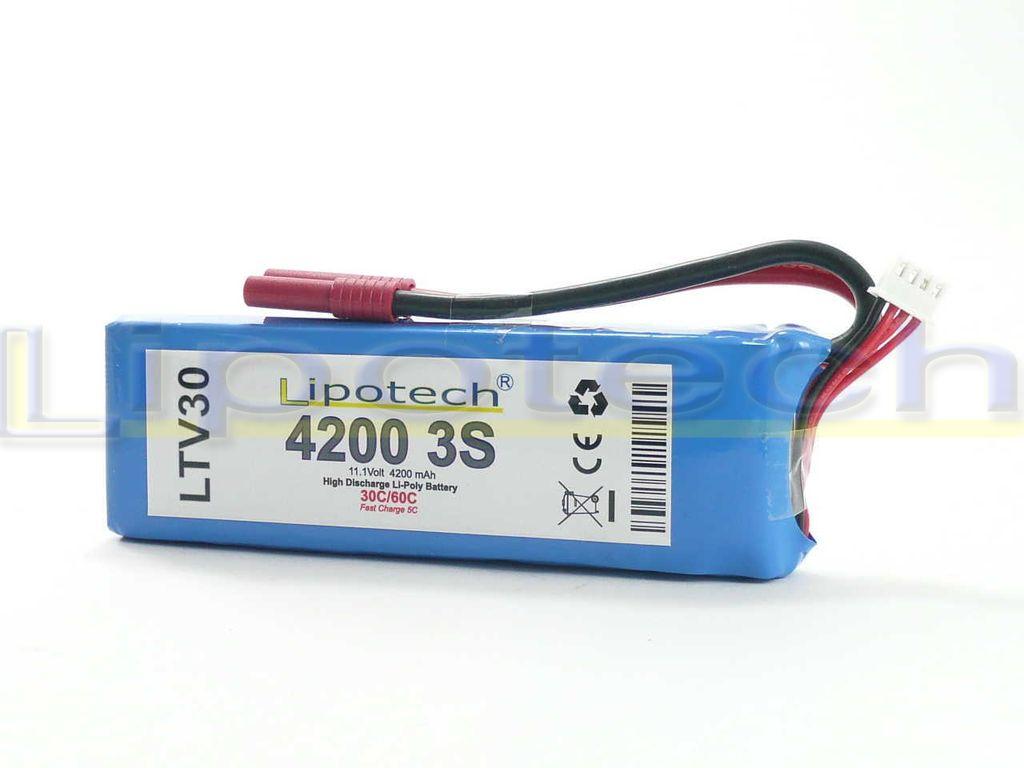 Batteria LIPO (polimeri di litio) LTV30 3300mAh 11,1 Volt
