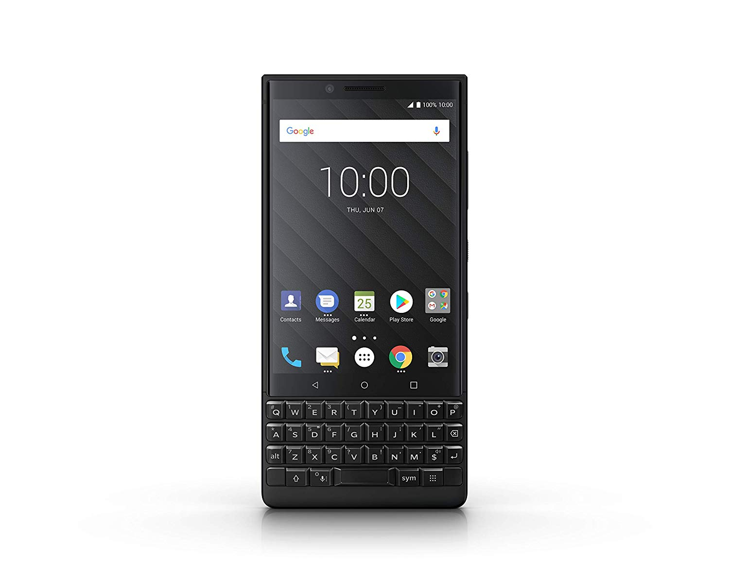 BlackBerry Key2 Dual SIM, 6 GB RAM, Android 8.1, 128 GB Memoria,