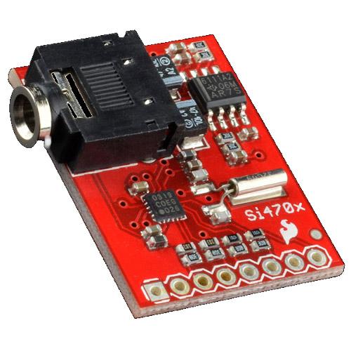 Evaluation Board for Si4703 FM Tuner