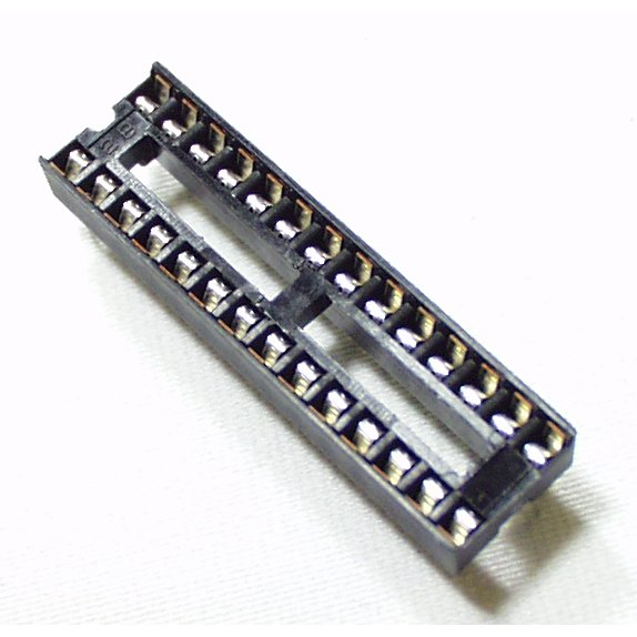 "DIP Sockets Solder Tail 28-Pin 0.3"""