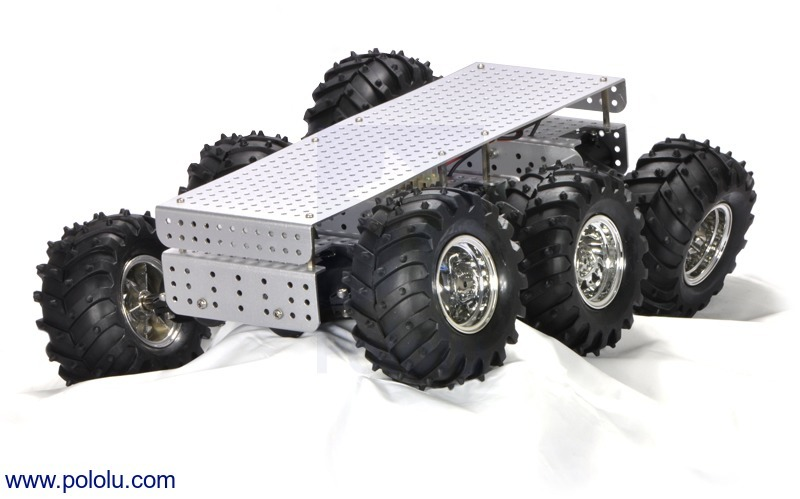 Dagu Wild Thumper 6WD All-Terrain Chassis, Black, 34:1