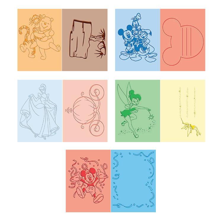 Disney Duos Collection - Cricut Cuttlebug