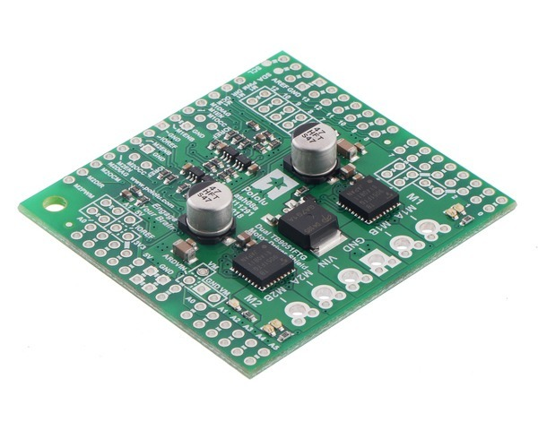Dual TB9051FTG Motor Driver Shield for Arduino