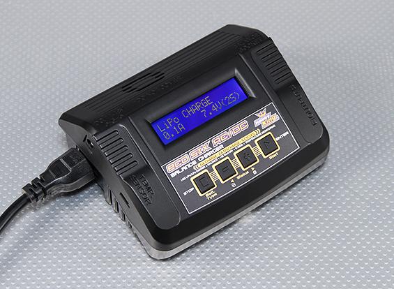 ECO SIX 80W 6A 2~6S Battery Balance Charger AC/DC w/PSU