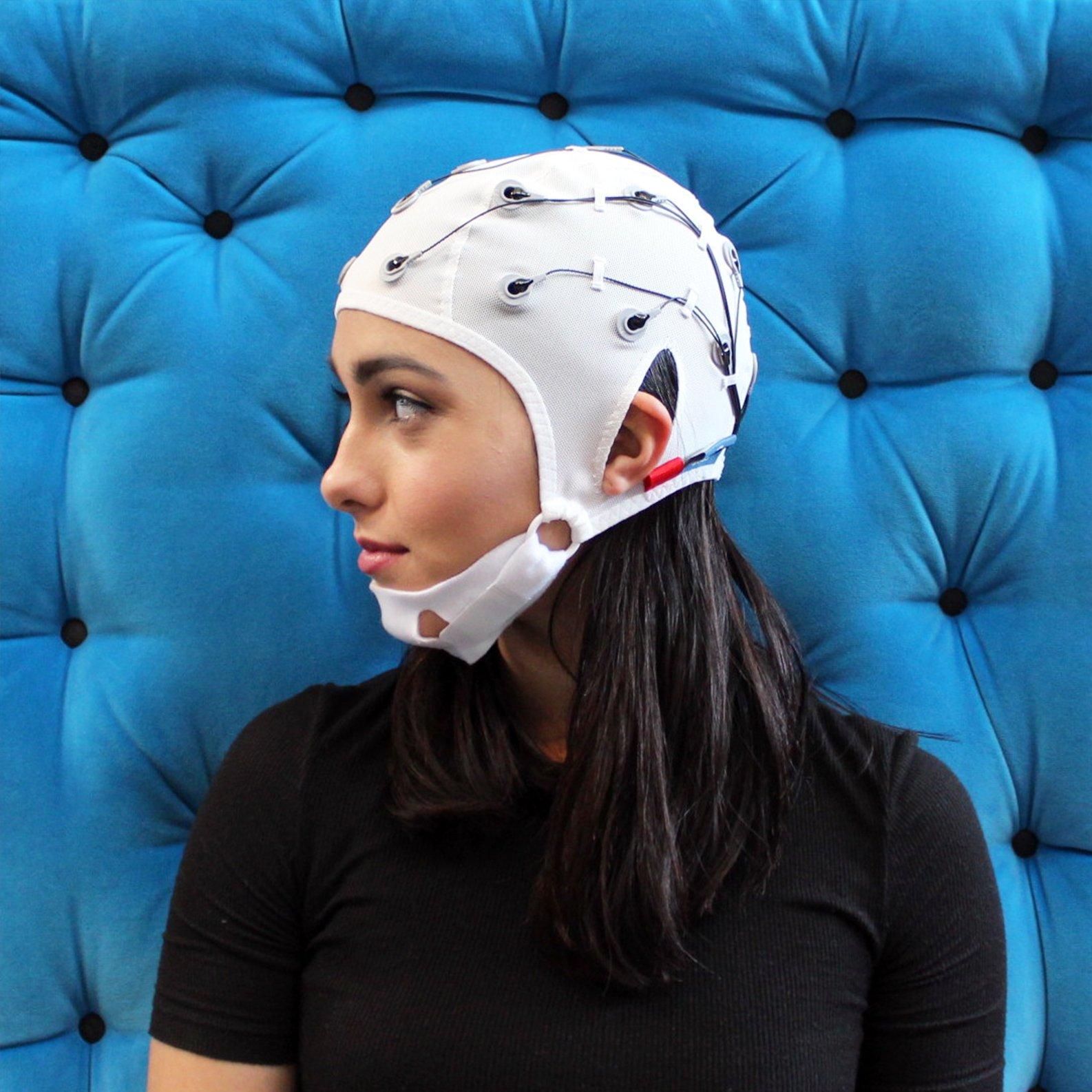 EEG Electrode Coated Cap Kit - Small