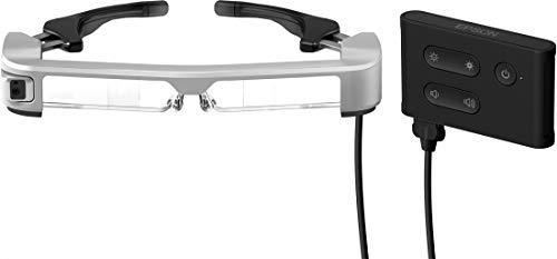 Epson Moverio BT-35E occhiale 3D stereoscopico Nero, Argento