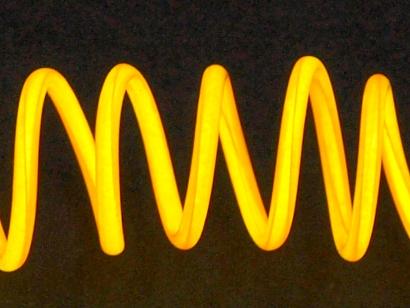 Filo Elettroluminescente Orange Yellow 1.2mm