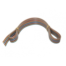 Flat cable multicolor - 3 metri