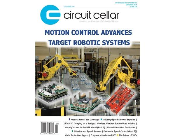 Free Circuit Cellar magazine September 2018