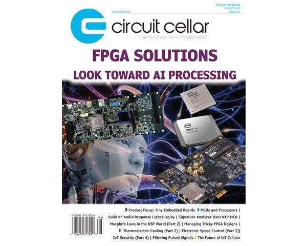 Free Circuit Cellar magazine August 2018